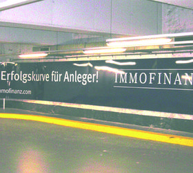 Alphasign-Schild-Immofinanz