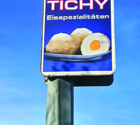Alphasign-Schild-Tichy