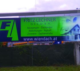 Alphasign Digitaldruck für Fritz Lechner